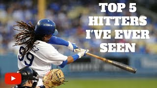 Top 5 Hitters I've Ever Seen Support our page by clicking the link ...