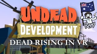 Baixar VIVE VR - Undead Development - Nailing Weapons Together like Dead Rising
