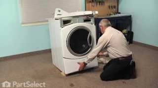 Washing Machine Repair - Replacing The Door Boot Seal (ge Part # Wh08x10036)