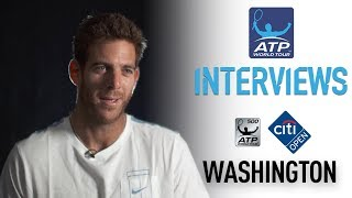 Del Potro Delighted To Return To Washington 2017