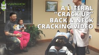 Something Goes Terribly Wrong with Back Neck Crack Up Seattle Tacoma Chiropractor Dr David Warwick