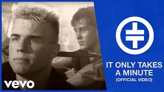 Take That - It Only Takes A Minute (Official Video) Listen on Spoti...