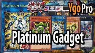 Platinum Gadget (YgoPro) - Link Gadgets 2018! MACHINE POWERHOUSE!