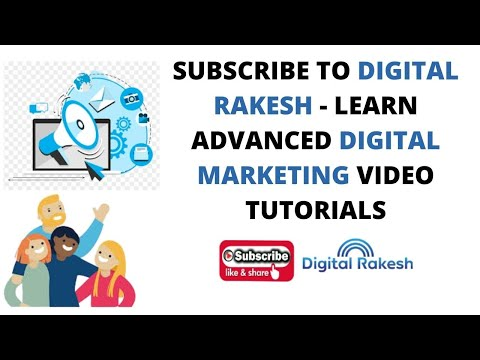 Digital Rakesh - Learn Advanced Digital Marketing Video Tutorials 2020