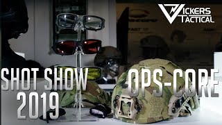 Shot Show 2019 - OPS-Core Helmets and Headsets