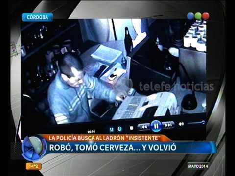 Video de un robo en Córdoba - Telefe Noticias
