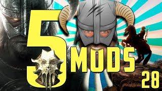 5 QUEST MODS for SKYRIM SE!