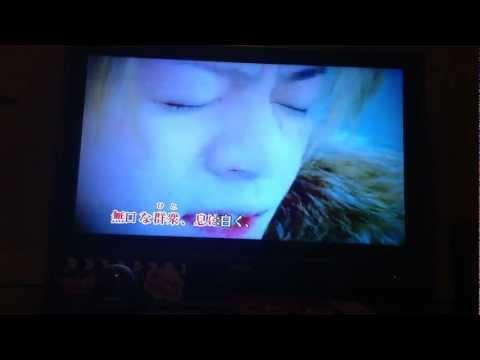GLAY  winter.again   カラオケ歌ってみました。。