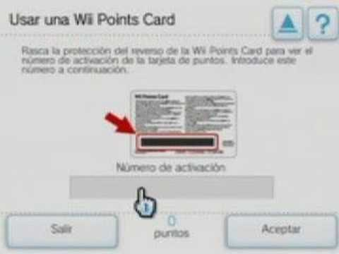 What is a Wii Points card?