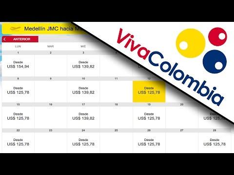 Cotizando Pasajes Aéreos Con VivaColombia