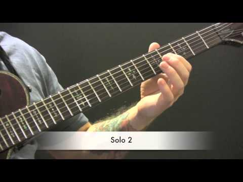 Hooks In You Guitar Tutorial by Iron Maiden