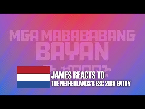 "JAMES REACTS TO ""ARCADE"" by DUNCAN LAURENCE - SPAIN ESC 2019 (EP#24)"