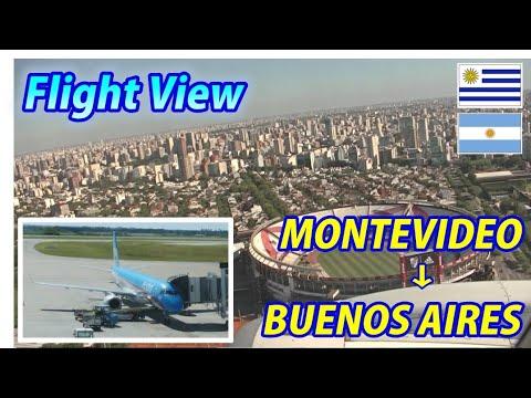The Short-Range International Airline MONTEVIDEO → BUENOS AIRES