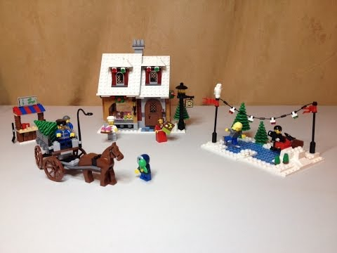 LEGO Winter Village Bakery set 10216 Review