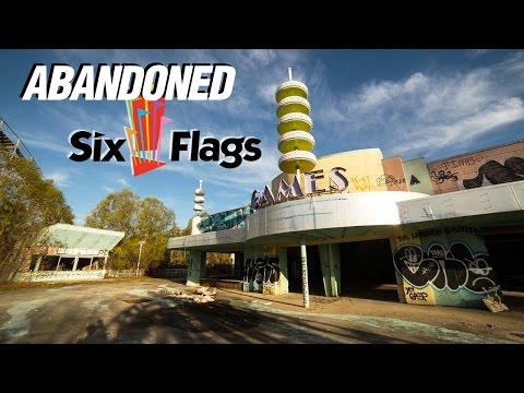 Exploring an Abandoned Theme Park: Six Flags New Orleans 🎢 Part 2