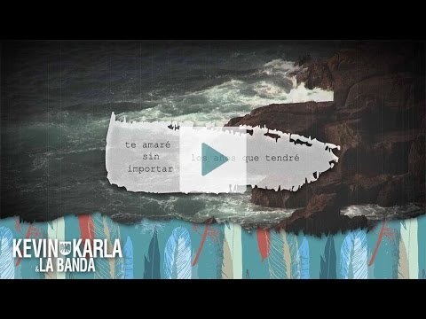 Thinking Out Loud (spanish version) - Kevin Karla & La Banda (Lyric Video)