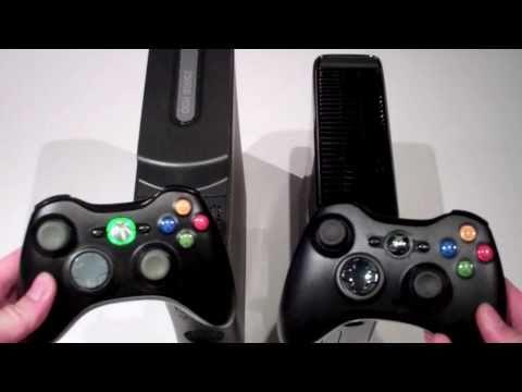 Xbox 360 Elite 120GB (2009 - 2010) Vs Xbox 250GB (2011)