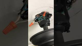 Installing a Sonoff switch for a ceiling fan