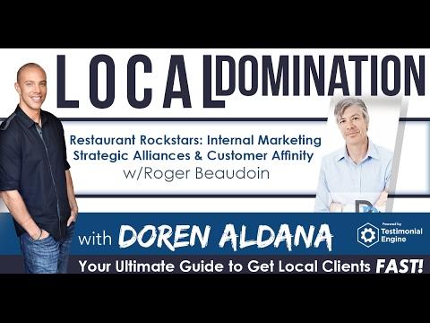 Restaurant Rockstars: Internal Marketing, Strategic Alliances & Customer Affinity w/Roger Beaudoin
