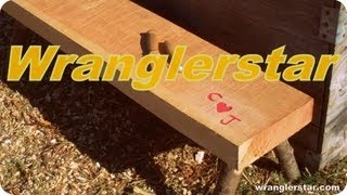How To Build A Timber Framed Bench