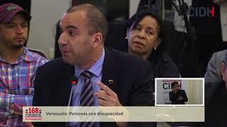 Venezuela  Personas con discapacidad