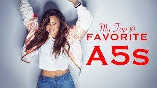 Demi Lovato - My Top 10 FAVORITE A5s!