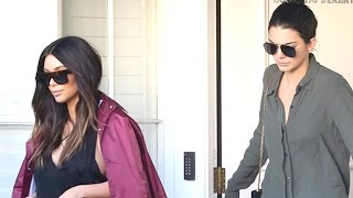 Kim Kardashian And Kendall Jenner Hit Epione Salon