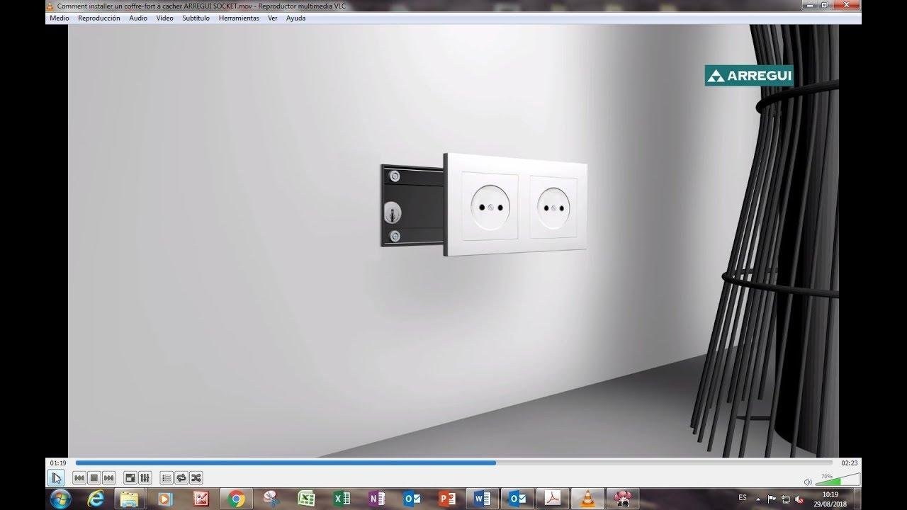 Comment Installer Un Coffre Fort A Cacher Arregui Socket Youtube