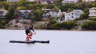 X1 Water Bike by Judah Schiller for $6K: Novel Commute