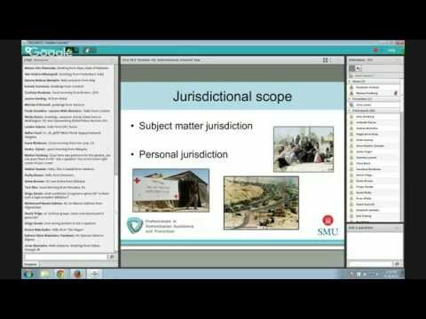 OLS HLP 10: International criminal law and its role in addressing violations of IHL