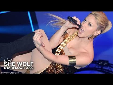 Shakira ~ She Wolf [Live In Paris Starfloor Night 2009] HD