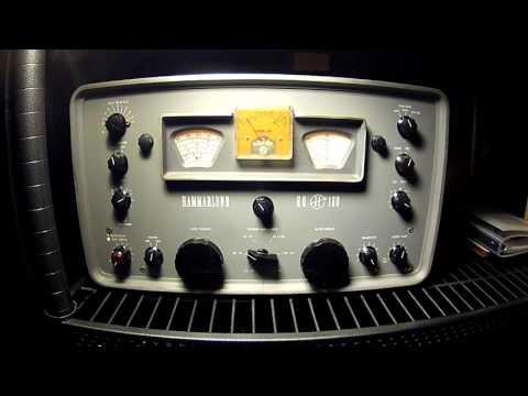 SWL: Radio Habana Cuba on Vintage Hammarlund HQ-160 Receiver