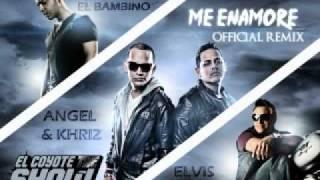 """Angel y Khriz Ft Tito """"El Bambino"""", Elvis Crespo Me Enamore Jhos Rmx 2011"""