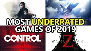 The 7 Most UNDERRATED Games of 2019 - Maka's Picks