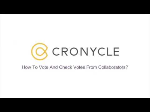 Vote And Check Votes From Collaborators