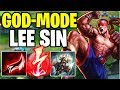 WTF? THIS NEW LEE SIN BUILD CAN LITERALLY 1V5 CARRY! WHY IS HYDRA SO STRONG? #13 - League of Legends