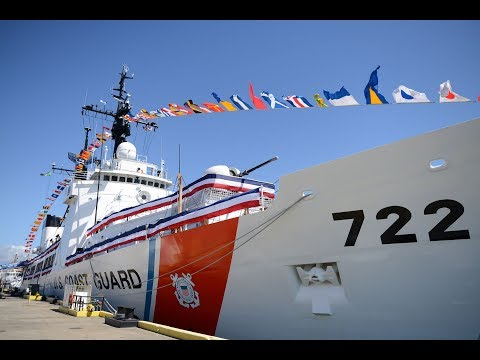 USCG - Step by Step: Mooring (Docking) A Ship; Excellent Deck Tour Of 1960s Hamilton-Class Cutter