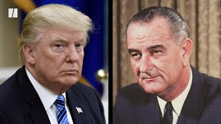 President Trump Says Lyndon B. Johnson Could Be In Hell