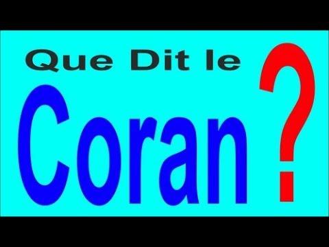 Le saint coran français