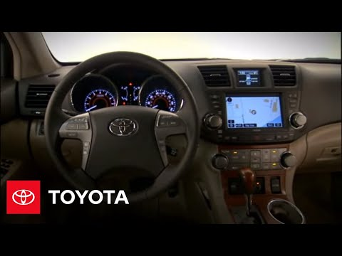 2010 Highlander Hybrid How To Smart Key System Overview Toyota