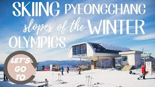 Let's go to... Pyeongchang, South Korea Winter Resort! (DRONE)