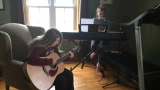 Fix you - Coldplay cover - Hannah and Cassie