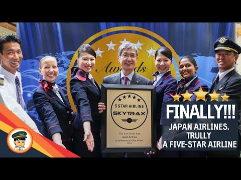 JAPAN AIRLINES achieves 5 STAR rating from SKYTRAX