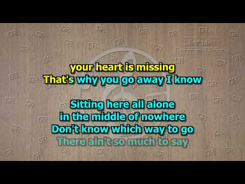 Michael Learns To Rock - That's Why You Go Away (Karaoke)