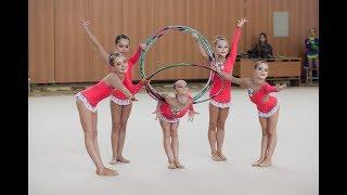 Танец с обручем художественная гимнастика