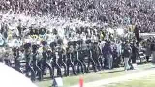 MIchigan marching band-Temptation NU 2004
