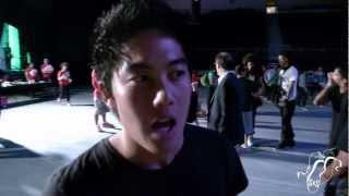 Ryan Higa aka Niga Higa at Hip Hop International 2012  Step x Step Dance