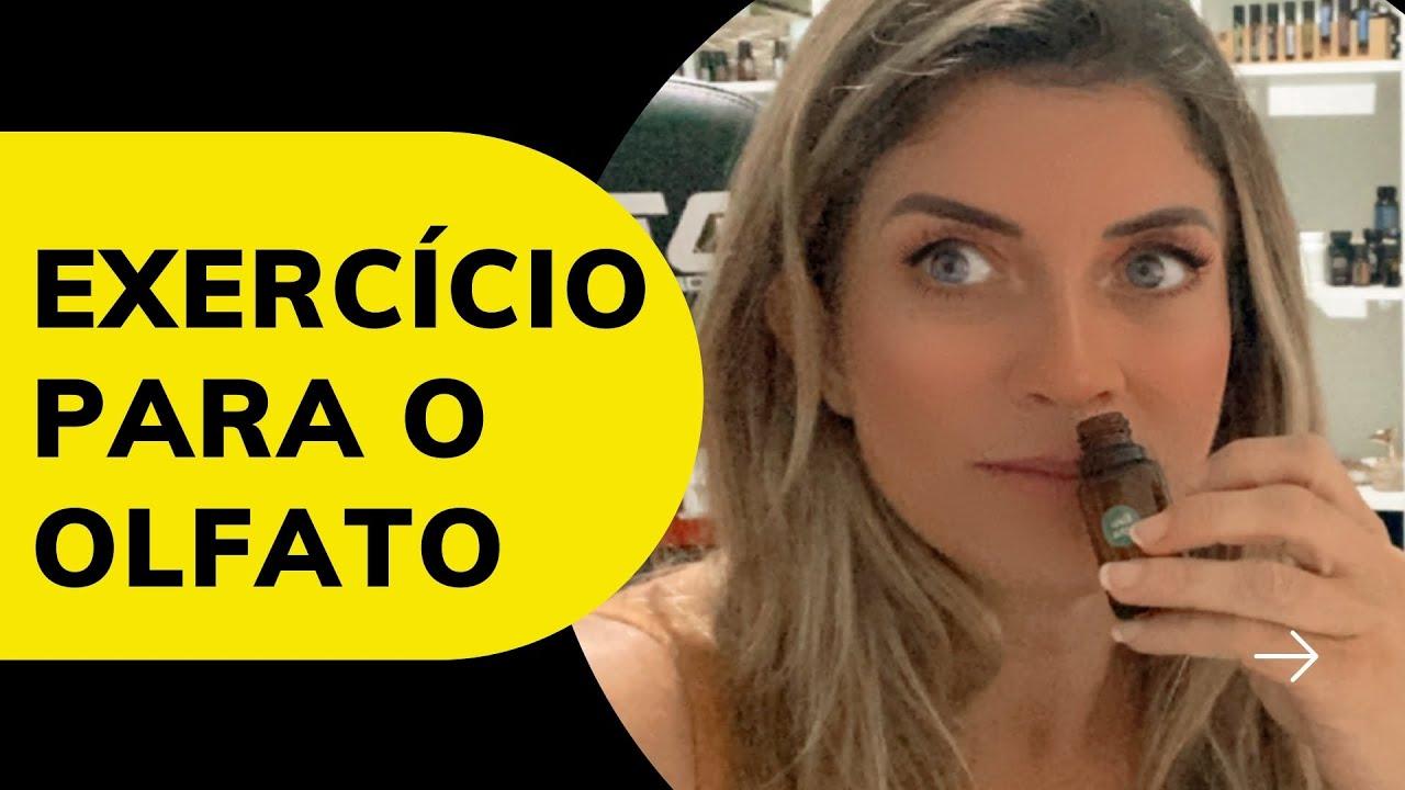 EXERCÍCIO PARA SUPORTE DO OLFATO