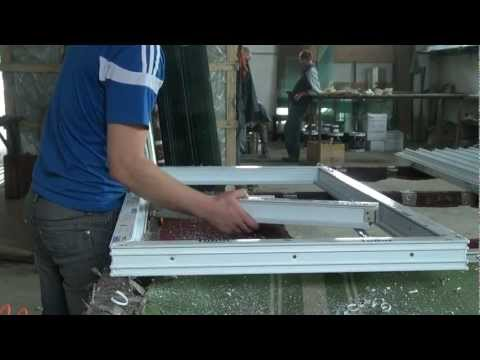 видео: сборка металлопластиковых окон