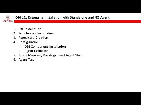 Step-by-step installation of Oracle Data Integrator (ODI) 12c with Standalone and JEE Agent